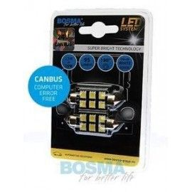 Pack de bombillas LED BOSMA SV8.5 6XSMD 5050