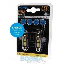 Pack de bombillas LED BOSMA SV8.5 3XSMD 5050