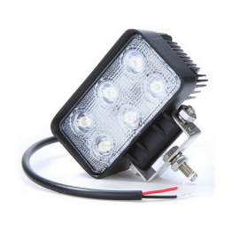 Faro led de trabajo, rectangular 1200LM