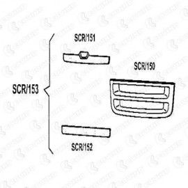Kit de la rejilla SCANIA