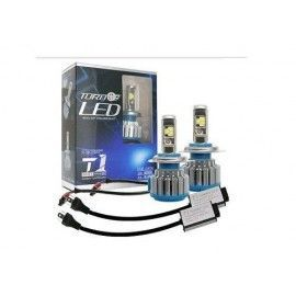 Kit conversión faros H4 LED 9000LM-6000K