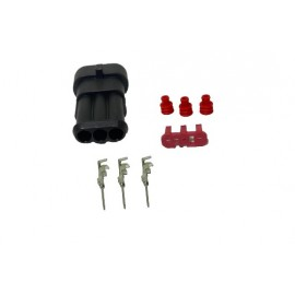 Kit conector 3 vias macho SuperSeal 1.5